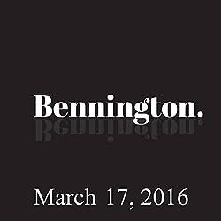 Bennington, March 17, 2016