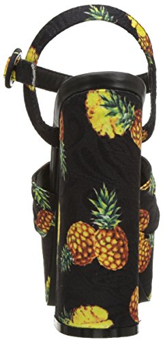 Black Womens Scat Kenny Loves Pineapple Penny Fabric nzPCUWwx