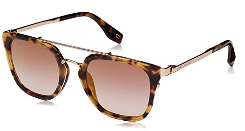 Marc Jacobs sunglasses (MARC-270-S 086/FQ) Havana - Light Gold - Blue Grey Gradient with Mirror effect lenses ()