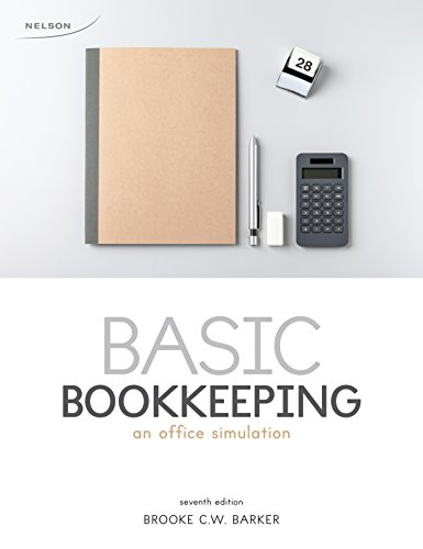 PDF) Basic Bookkeeping: An Office Simulation Book By Brooke C W