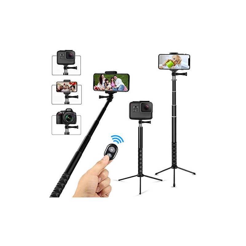 Wsiiroon Selfie Stick Tripod, Extendable