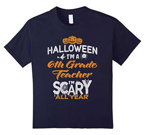 Kids 6th Sixth Grade Teacher Halloween Costume Gift Tshirt 12 (Halloween Costumes 6th Grade Boy)