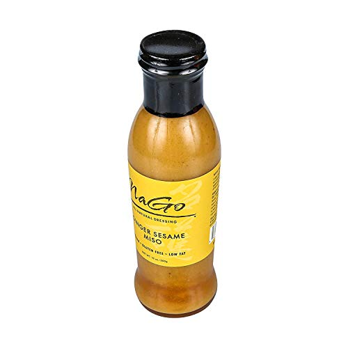 NaGo Ginger Sesame Miso Dressing (Japanese Salad Dressing)