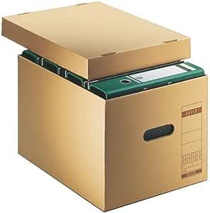 Leitz 60810000 Cartón Marrón archivador organizador - Organizador ...