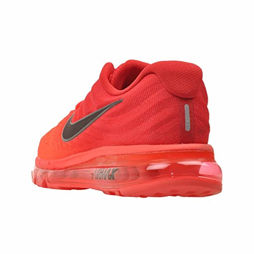 Nike Herre Air Max 2017, Lyse Crimson / Sort, 13 M Os