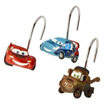 Disney/Pixar Cars 2 Arrows Resin Shower Curtain Hooks