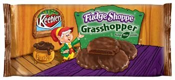 Keebler Fudge Shoppe Grasshopper Fudge Mint Cookies 10 Oz [Pack of - Mint Cookies Keebler