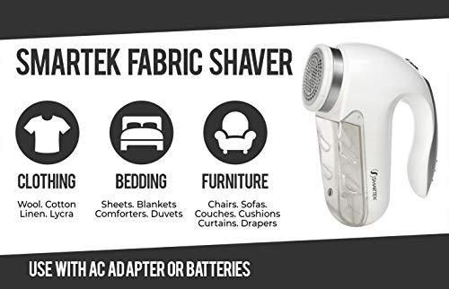 Smartek ST-25 Deluxe Fabric Clothes Garment Shaver Pill, Fuzz, & Lint Remover by Smartek (Image #4)