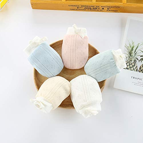 LOVARTS BEAUTY Baby No Scratch Gloves Newborn Boys Girls Adjustable Breathable Anti-scratch Glove Mittens