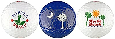 EnjoyLife Inc Myrtle Beach South Carolina Variety Golf Ball Gift Set