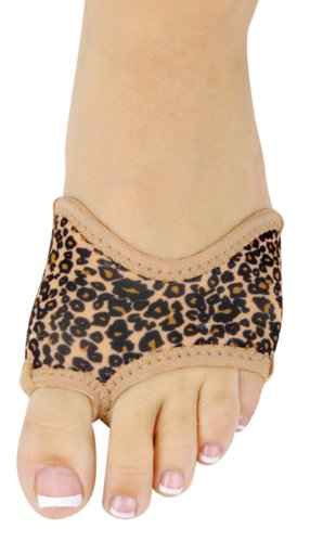 Half Soles Shoes Danshuz in Neoprene Brown Leopard 54Gs95wds