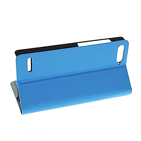Amazon.com: KCASE Flip Leather Slim Wallet Card Pouch Stand ...