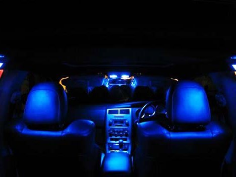 Amazon.com: GENSSI Blue LED Lights Interior Package Kit For Dodge Charger  2006 2010: Automotive