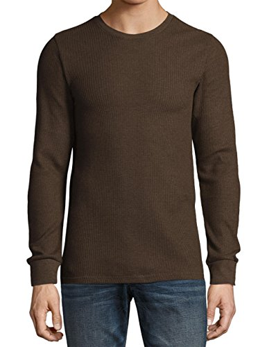 KS Mens Thermal T Shirts (2X-Large/ ks23_brown) -