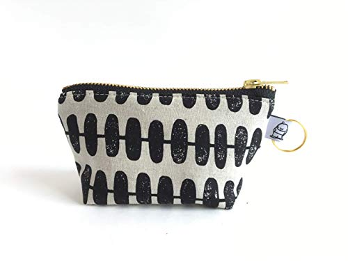 Handmade Fabric Handbags - Charlie Change Purse Maker, Change Purse, Zippered Pouch, Zippered Handbag, Fabric Accessories, Accessories, Cosmetic Bag