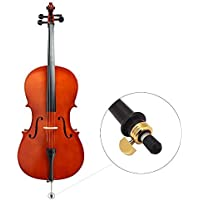 Broadroot 3pcs Cello Endpin Rubber Tip Cap Protector Stringed Instruments Parts