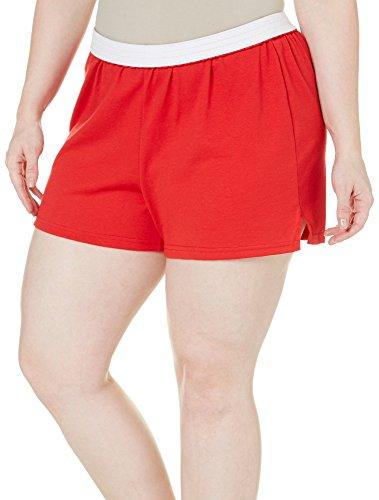 Soffe Juniors Plus Authentic Shorts 2X Red