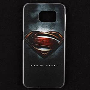 zxc Embossment Superman Pattern Hard Case for Samsung Galaxy S6