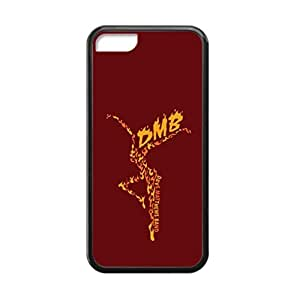 Black, 5C Case - Dave Matthews Band Logo Photo Design Durable Rubber Tpu Silicone Case Cover For Apple iPhone 5C