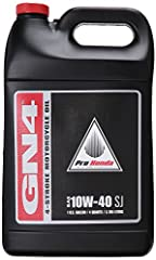 HONDA set the standard for motorcycle oil when it introduced GN4 way back in 1975. We selected the highest-quality base stocks and created an additive package specifically designed for the unique requirements of motorcycle and ATV engines. Co...