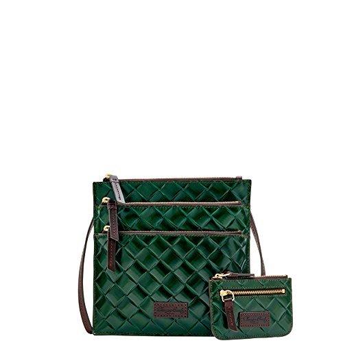 Dooney & Bourke Triple Zip Crossbody - Forest Bag Purse Handbag by Dooney & Bourke