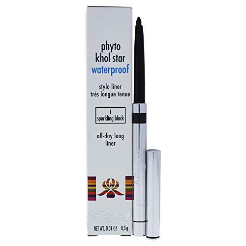 Sisley Phyto Khol Star Waterproof – 01 Sparkling Black By Sisley for Women – 0.01 Oz Eyeliner, 0.10 Oz