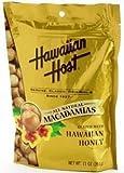 Hawaiian Host Macadamia Nuts Honey Glazed 4 Bags #701
