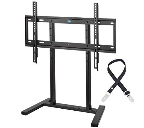 Mounting Dream MD5108 Table Top TV Stand with Anti-tip Strap and 3 Height Adjustments, Fit for Most of 42-60 Inches Plasma, LED, LCDTVs with VESA from 100X100 to 600x400mm, Loading Capacity 99 LBS