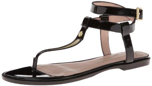 Vivienne Westwood Women's Margie Dress Sandal,Black patent,8 M US