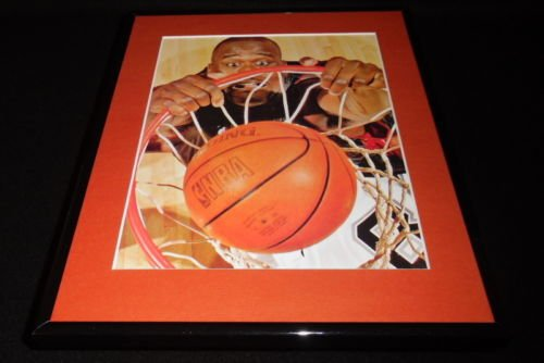 Shaquille O'Neal DUNK Framed 11x14 Photo Display Heat