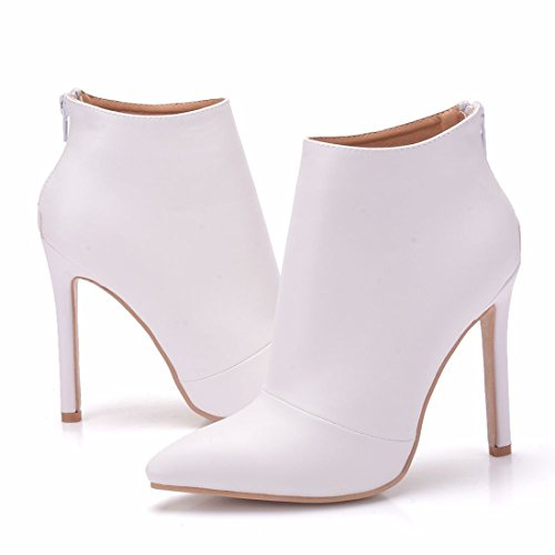 Boots MGM 36 EU 5 Femme Blanc Chelsea Joymod Blanc Sw76Fwq5a
