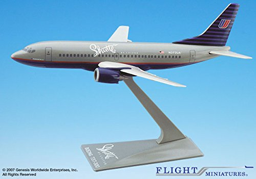 Flight Miniatures UAL United Shuttle Airlines Boeing