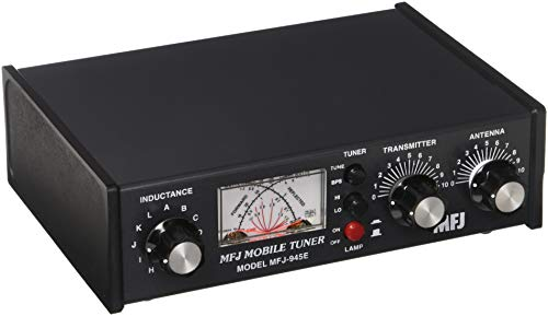 MFJ Enterprises Original MFJ-945E 1.6 ~ 60 MHz Mobile Antenna Tuner w/ Watt Meter & Antenna Bypass Switch. 300 Watts