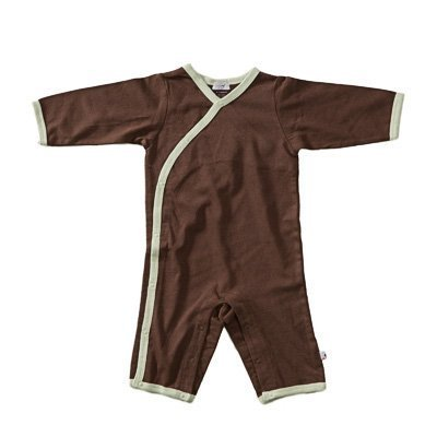 Baby Soy All-Natural Kimono Onepiece - Chocolate/Tea (12-18 Months)