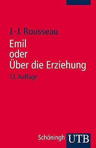 Emil oder Über die Erziehung.