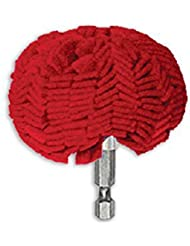 """3"""" Pro Buffing Ball - Hex Shank - Turn Power Drill into High-Speed Polisher"""