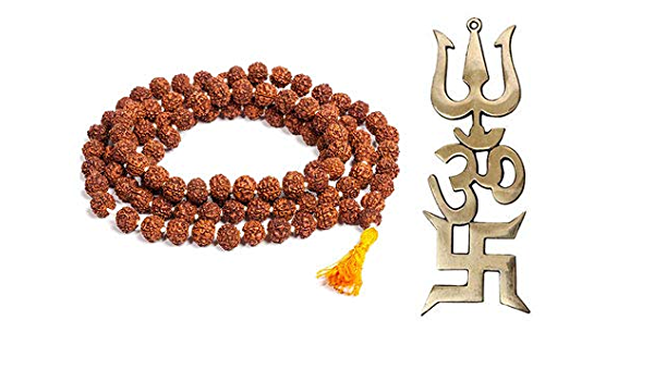 Women Yoga Bracelet Silver Gold Charms Rudraksha Seeds Bracelet with Silver and Dangling Silver Bead
