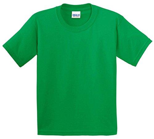 Gildan Ultra Cotton Youth T-shirt (Gildan Ultra Cotton Youth T-Shirt, Kelly Green, Large)