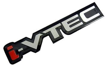 black acura logo. ivtec silver red black engine aluminum emblem badge nameplate decal logo rare for honda acura
