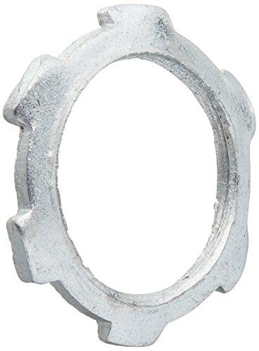 Conduit Rigid Locknut (Halex 61905B Conduit Locknuts Rigid and Intermediate Metallic Conduit (IMC) Fitting Steel (200 Piece), 1/2