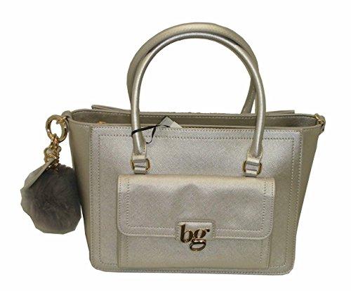 813001 tracolla con BG Borsa manici BLUGIRL ARGENTO due bag BAULETTO women A0wSpR