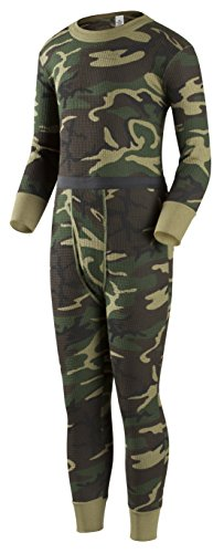 Indera Boys Traditional Thermal Underwear Shirt and Pant Set – DiZiSports Store