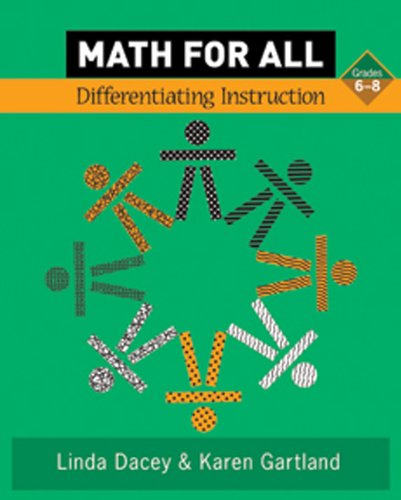 Math for All: Differentiating Instruction, Grade 6-8
