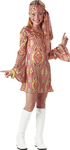 Dolly Child Disco (Disco Dolly Child Costume Red - Medium)