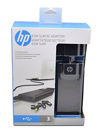 HP 65W Slim with USB AC Adapter Model G6H47AA#ABA