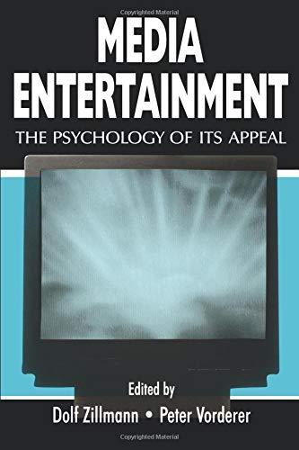 Media Entertainment (Routledge Communication Series)