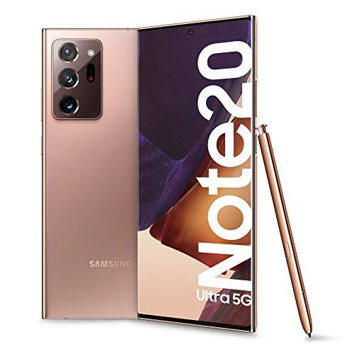 Samsung Galaxy SM-N986B 17.5 cm (6.9″) 12 GB 256 GB 5G USB Type-C Bronze Android 10.0 4500 mAh – Samsung Galaxy SM-N986B, 17.5 cm (6.9″), 12 GB, 256 GB, 108 MP, Android 10.0, Bronze