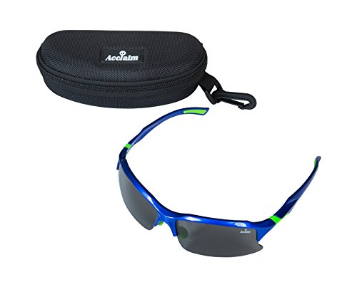 Trim pl Acclaim Sports Sun Glasses Cricket Blue Titan Green Marco de S7Sv0