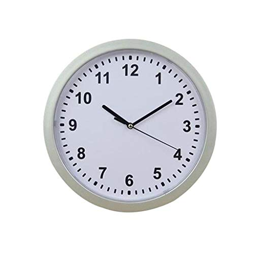 Joykith Clock Storage Box Clock Safe Wall Clock Jewelry Box Wall Clock Hidden Clock DIY Removable Wall Clock Simple Digits Mirror Decal for Home Decoration ()