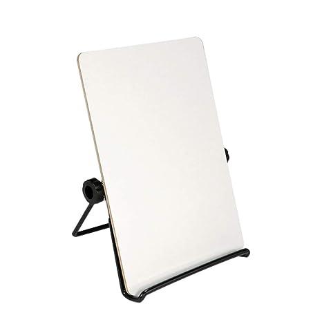 Amazon.com: Whthteey Caballete de pizarra blanca con soporte ...